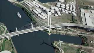 Ponting Bridge in Hamburg