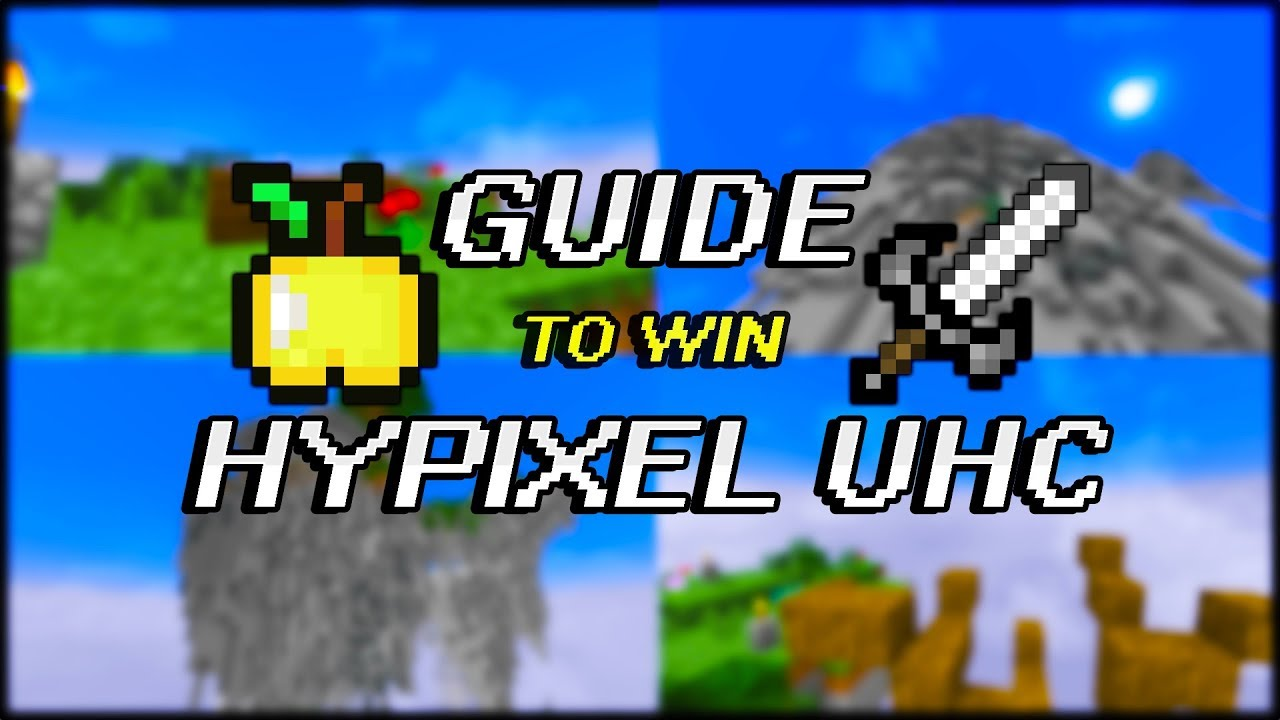 Official 12 Guide to WIN MORE Hypixel UHC Games (Minecraft Tips)