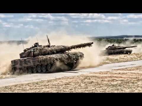 NATO Live-Fire Exercise In Bulgaria • Saber Guardian 17