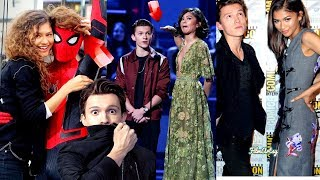 Tom Holland and Zendaya Funny Moments(Part-1) - Try Not To Laugh