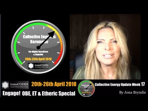 20th-26th APRIL 2018 Energy Update & Energy Tips OBE, ET & ETHERIC SPECIAL