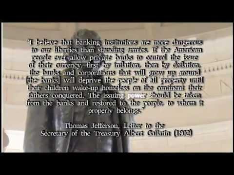 Thomas Jefferson quote (banks)   YouTube