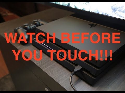 Anyone Can Clean The PS4 PRO Watch First!