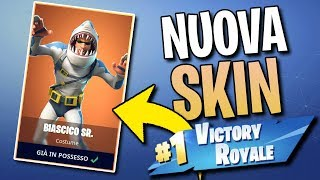 Victory with BIASCICO the New Legendary Skin on FORTNITE