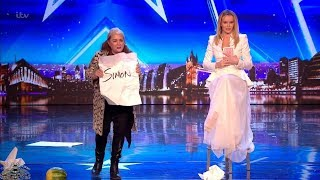 Britain's Got Talent 2018 Mandy Muden Hilarious Comic Magician Full Audition S12E03