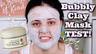 CARBONATED Clay MASK! Elizavecca Milky Piggy Carbonated Bubble Clay Mask | What the ***K?