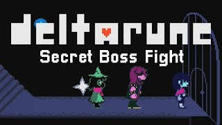DELTARUNE Chapter 1 Secret Boss - How To Find The Broken Keys + Boss Gameplay