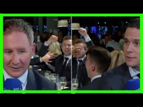 Breaking News | Video: mccaffrey hilariously overshadows gavin & cluxton interviews