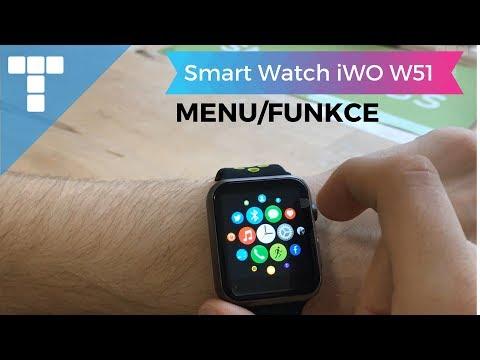 Smart Watch iWO W51 | Menu/Funkce | www.smartings.cz