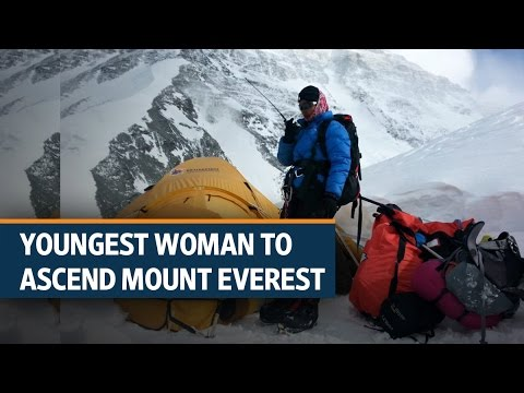 Poorna Malavath, the youngest woman to ascend Mount Everest