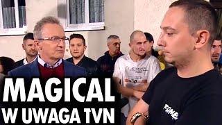 DANIEL MAGICAL BYSTRZAK I BOXDEL w UWAGA TVN + pełna wypowiedź Atora