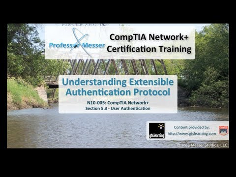 Understanding Extensible Authentication Protocol - CompTIA Network+ N10-005: 5.3