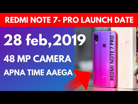 Redmi note 7 launch date in India confirmed 28 Feb 2019 | Launch  event date in India with proof Mp3