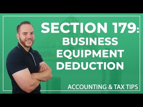 Tax Tip   Section 179: Business Equipment Deduction