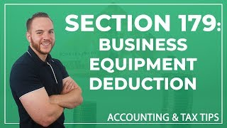 Tax Tip | Section 179: Business Equipment Deduction