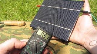 [Natalex] Тест Китайских солнечных панелей часть № 4