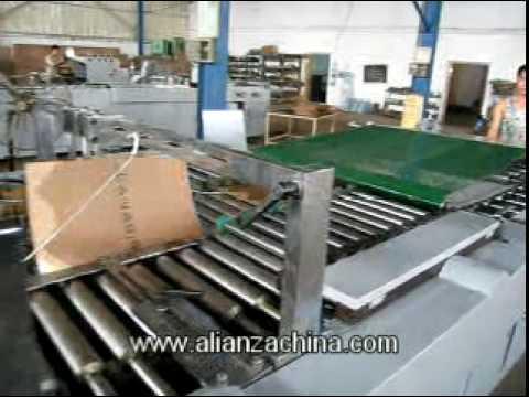 Maquina para fabricar bolsa de papel STD 930