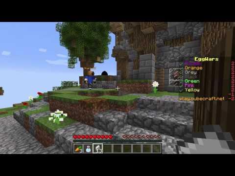 Minecraft - Egg wars - Anti Knockback Hacker