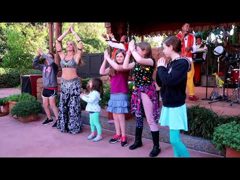 Disney's Epcot Festival Of the Holidays Morocco Band and Belly Dancer Full Show