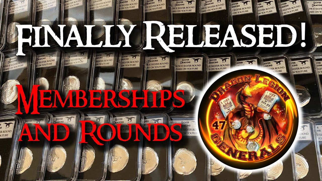 NEW! Channel Memberships and Poured Silver Rounds!