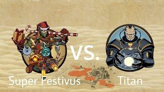 Shadow Fight 2 Super Festivus vs Titan