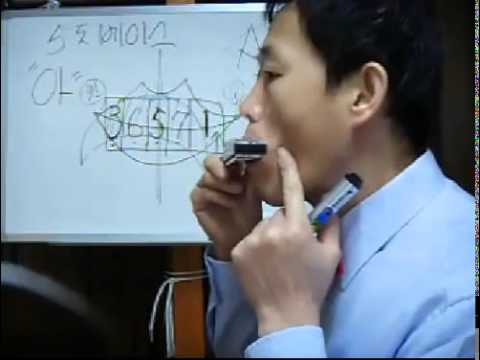 하모니카 반주 배우기 - 5도 베이스 배우기 - �