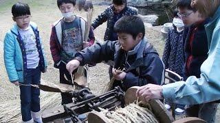 昭和20~40年代の生活を紹介する「昔のくらし展」を開催している北...