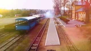 Sezonas baigtas 2013m ; Lithuanian narrow gauge railway. УЖД в Литве