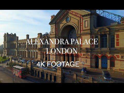 Alexandra Palace London [4K] - DJI MAVIC PRO