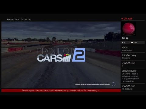 Project Cars 2 Livestream!| Last Stream before I get my Gaming PC!!!