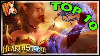 Top 10 Kripp Clips of ALL TIME - Hearthstone