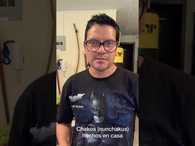 Homemade Nunchakus