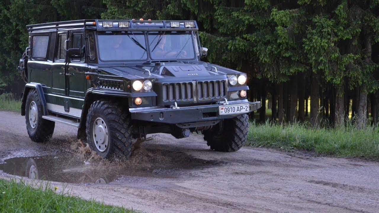 САМОДЕЛЕН ВСЪДЕХОД, създаден на базата на руския камион ГАЗ-66!