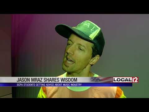 Jason Mraz Performed At SCPA And Took Questions From Students