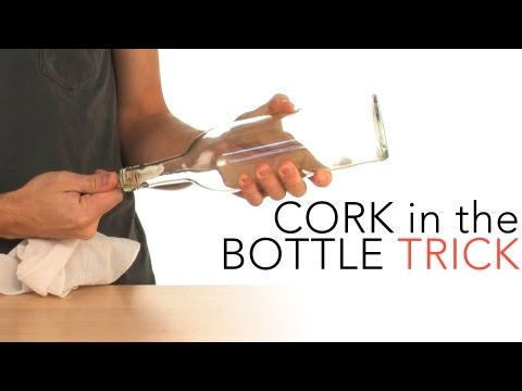 Cork in the Bottle Trick - Sick Science! #015