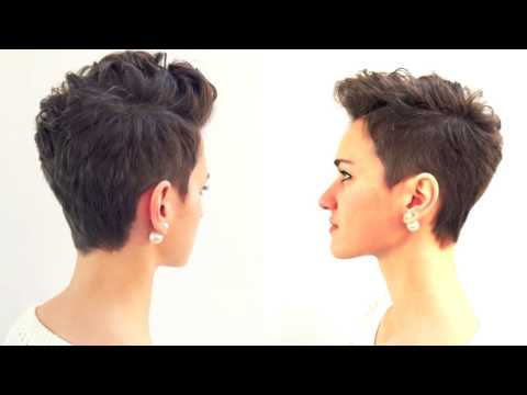 Pixie haircut – Short hairstyle 2018 – GBHDESIGN