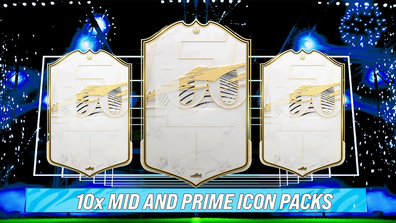 Download 10x MID AND PRIME ICON PACKS! #FIFA21 ULTIMATE TEAM