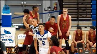 Los Medanos vs Solano.  Men's Basketball.  12-20-17
