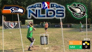 2018 NLDS | Seahawks vs. Mallards | MLW Wiffle Ball