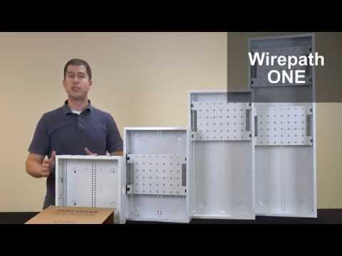 wirepath one media enclosures youtube rh youtube com Install a Structured Wiring Structured Wiring Enclosure