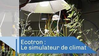 ECOTRON : le simulateur de climat | Reportage CNRS