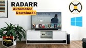 Raspberry Pi + Sonarr, Radarr, Deluge and Jackett - YouTube