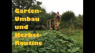 Gartenrundgang September:To Do´s, späte Aussaten, ernten, einmachen, Garten-Umbau und Routine