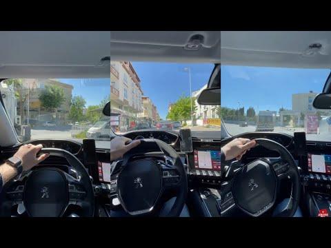 araba snapleri gündüz|peugeot|508|araba snap|sürüş mahalle arası