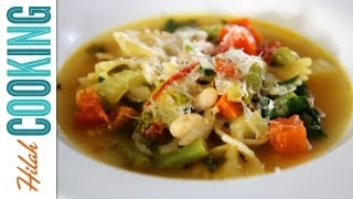 Minestrone Soup Recipe | Vegetarian Minestrone
