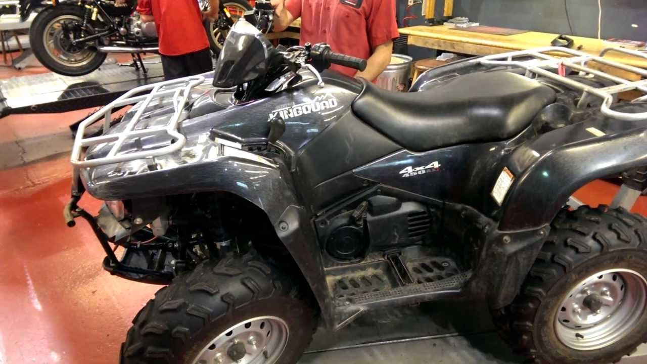 2008 suzuki king quad 450 atv youtube. Black Bedroom Furniture Sets. Home Design Ideas
