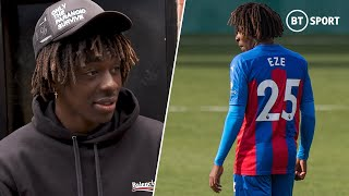 Eberechi Eze's journey from humble beginnings to Premier League rising star with Crystal Palace