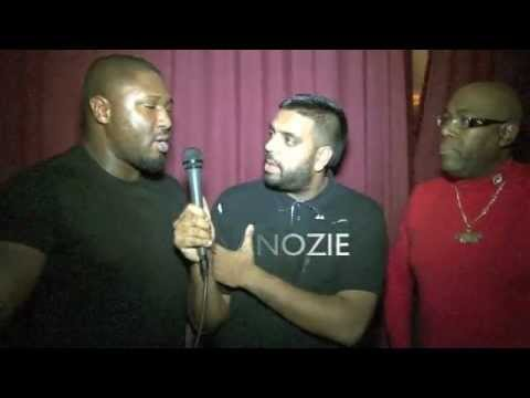 Cass Pennant & Nonso Anozie  for iFILM LONDON  CASUALS PREMIERE  URBAN EDGE FILMS