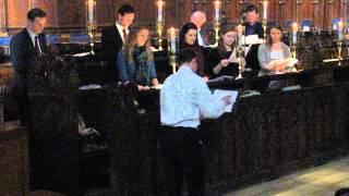 HTB Chamber Choir - Howells Gloucester Service Magnificat (rehearsal)
