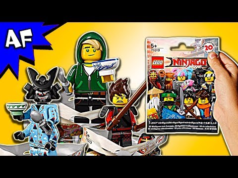 Lego Ninjago Movie: Minifigure Series 71019 BLIND BAG Opening